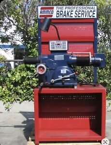 Used Ammco 4000e Digital Combination Disc And Drum Brake Lathe Rotor