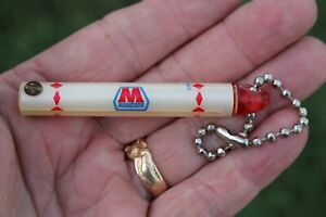 Vintage Advertising Gas Oil Key Holder Part Accessory