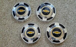 1973 1987 Chevy C10 1 2 Ton Truck 10 3 4 Dog Dish Hubcaps Hub Caps Wheel Covers