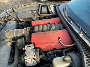 Ls6 5 7 Engine Complete Full Pullout Warranty 405hp C5 Z06 Pullout
