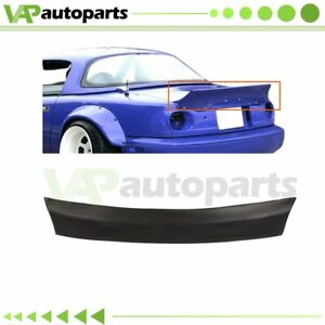 For Mazda Miata Rear Boot Trunk Tailgate Spoiler Ducktail Na Rb Rocket Style
