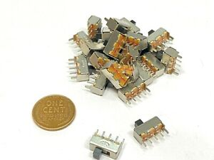 25 Pieces Slide Switch Ss 12f44g3 3pin 2 Position Spdt On off On Off B29
