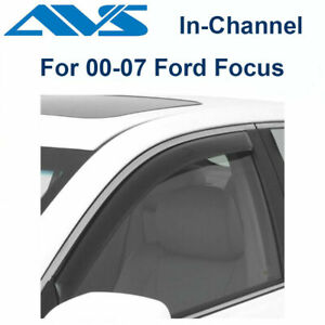 Avs Rain Guards 2pc In Channel Window Vent Visor For 2000 2007 Ford Focus 192419