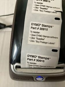 Dymo Label Writer 400 Turbo Label Printer 93176 With Power Cord Test And Work