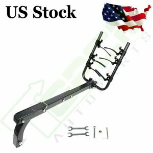 3 bike Rack Universal Carrier Hitch Mount Double Foldable Rack For Truck Novelty