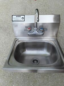 Krowne Hs 2 Wall Mounted Stainless Steel Hand Sink