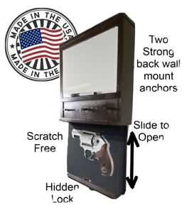 Large Dry Erase Board Key Holder With Hidden Compartment With Lock