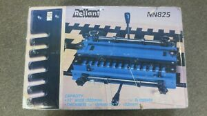 Reliant Nn825 Master Dovetail Jig Machine 1 2 Template 12 Wide