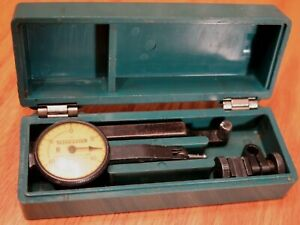 Federal Testmaster M 1 Dial Test Indicator 001 Jeweled In Clam Case Usa