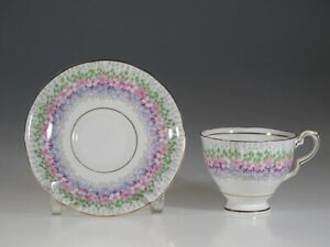 Royal Stafford Glendale Chintz Tea Cup And Saucer England