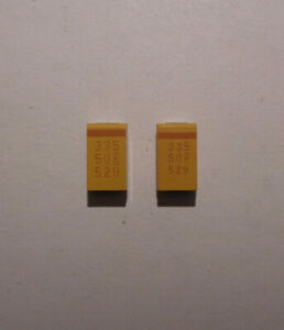 Capacitor Chips 106 10331 3358 33550k529 Set Of 2 Each New last Ones