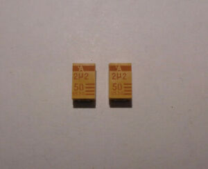 Capacitor Chips 106 10331 2258 9530 Set Of 2 Each New last Ones