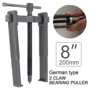 8 2 Jaw Bearing Puller Bushing Gear Extractor Car Motorcycle Remover Tools Kit