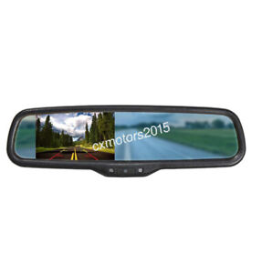 Interior Rear View Mirror Backup Display For Lexus Ct200h Is 250 300 Nx200 Rx350