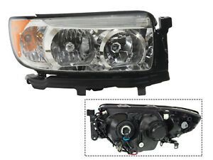 For 06 08 Forester Headlamp W o Sport Package Passenger Right Rh 84001sa461 Capa