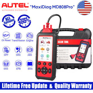 Autel Md808 Pro Abs Srs Engine Bms Dpf Throttle Airbag Scan Car Diagnostic Tool