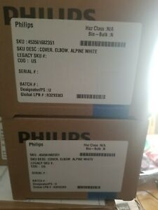 Philips Ultrasound 453561682351 Cover Elbow Alpine White Sealed Box