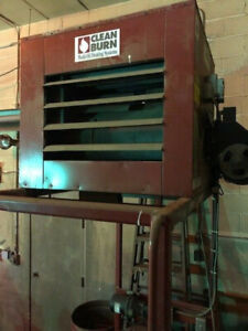 Waste Oil Heater furnace With Tank And Chimney Kit Used Oil Furnace Clean Burn