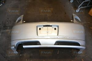 Cobalt Ss Coupe Turbo Supercharged Silver Rear Bumper W Lip 05 10 06 07 09