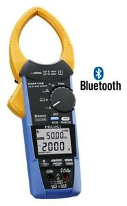Hioki Cm4142 2000a Ac True Rms Clamp Meter With Built In Bluetooth