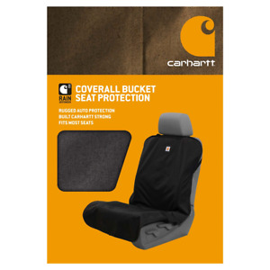 Carhartt Coverall Bucket Seat Protection Black New In Box Authentic Rugged