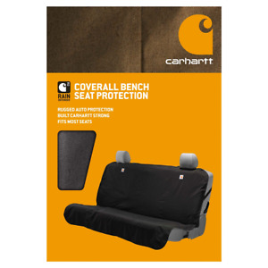 Carhartt Coverall Bench Seat Protection Covers Black Brand New In Box Rugged