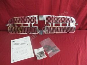 Nos Oem Dodge Charger Chrome Honeycomb Grille Insert 2006 2010