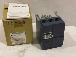 Fuji 3 Hp Vfd Input 230vac1 Ph Out 230vac 3 Phase Ip20 frn003c1s 7u