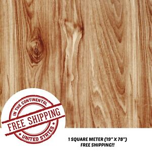 Hydrographic Water Transfer Hydro Dipping Dip Wood Grain D Film 1sq 19 x78