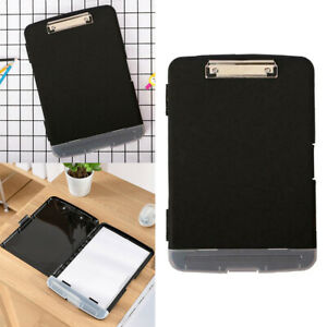 Plastic Waterproof Clipboard Storage Box Case Folder Board A4 Multifunction