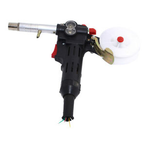 Mig Welder Spool Gun Push Pull Feeder Aluminum Welding Torch Without Cable