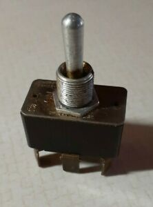 Vintage Toggle Switch On off on