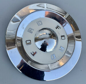 1957 1959 Ford Fairlane Thunderbird Dog Dish Hubcap 10 5 Wheel Rim Cover
