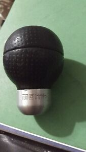 Momo Race Airleather Shift Knob Leather Ball Vintage Honda used