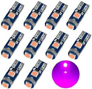 Auxlight Purple T5 37 74 2721 Pc74 Pc37 Led Bulb 3030 Chips Super Bright 12 Vol