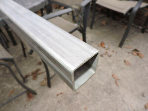 304 Stainless Steel Square Tube 2 X 2 X 0 112 60 long
