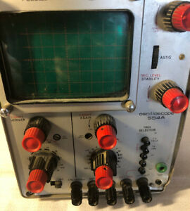 Telequipment S54a One Channel Oscilloscope Made In England