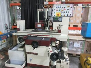Used Chevalier Fsg 3a818 Automatic Hydraulic Surface Grinder 3 Axis