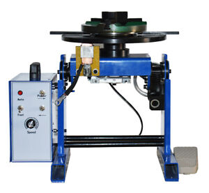 Welding Positioner Turntable With200mm Chuck Anti electromagnetic Power driven