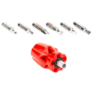 New Multifunction Mini 6 In 1 Screwdriver Set Electrical Hand Tool Kits
