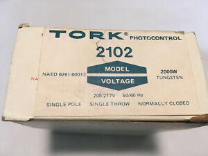 Tork 2102 Photocontrol Spst 208 277v 2000w Tungsten Normally Closed