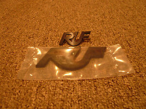 Ruf Porsche Front And Rear Badge Emblems New Oem