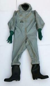 Auer Msa 3020 716 Chemical Protective Protection Complete Suit