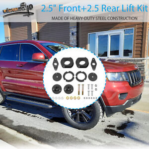 Fit 2011 2020 Jeep Grand Cherokee Wk2 Front Rear 2 5 Full Leveling Lift Kits