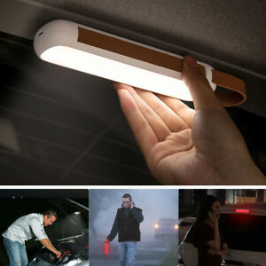 Magnetic Led Solar Emergency Car Flashlight Rechargeable Night Lights Camping
