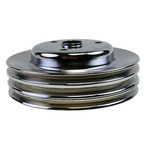 Crankshaft Pulley Triple Groove Lwp Long Water Pump For Chevy Sbc 262 283 400