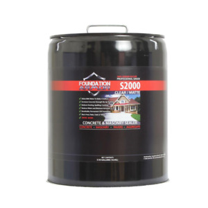 5 Gal Concentrated Sodium Silicate Concrete Sealer Densifier And Hardener