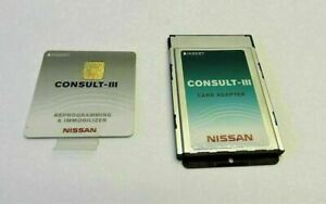 Nissan Consult Iii Reprogramming And Immobilizer Card W Adapter