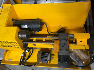 Emco Compact 5 Cnc Lathe With Chuck Needs Electrical Retrofit