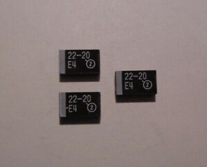 Capacitor Chips 106 10331 2265 22 20 E4 Set Of 3 Each New last Ones